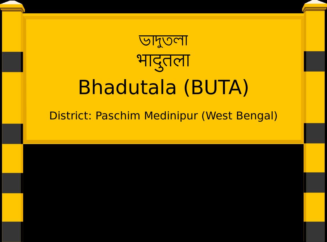 Bhadutala (BUTA) Railway Station