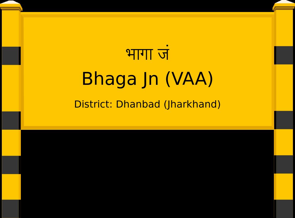 Bhaga Jn (VAA) Railway Station