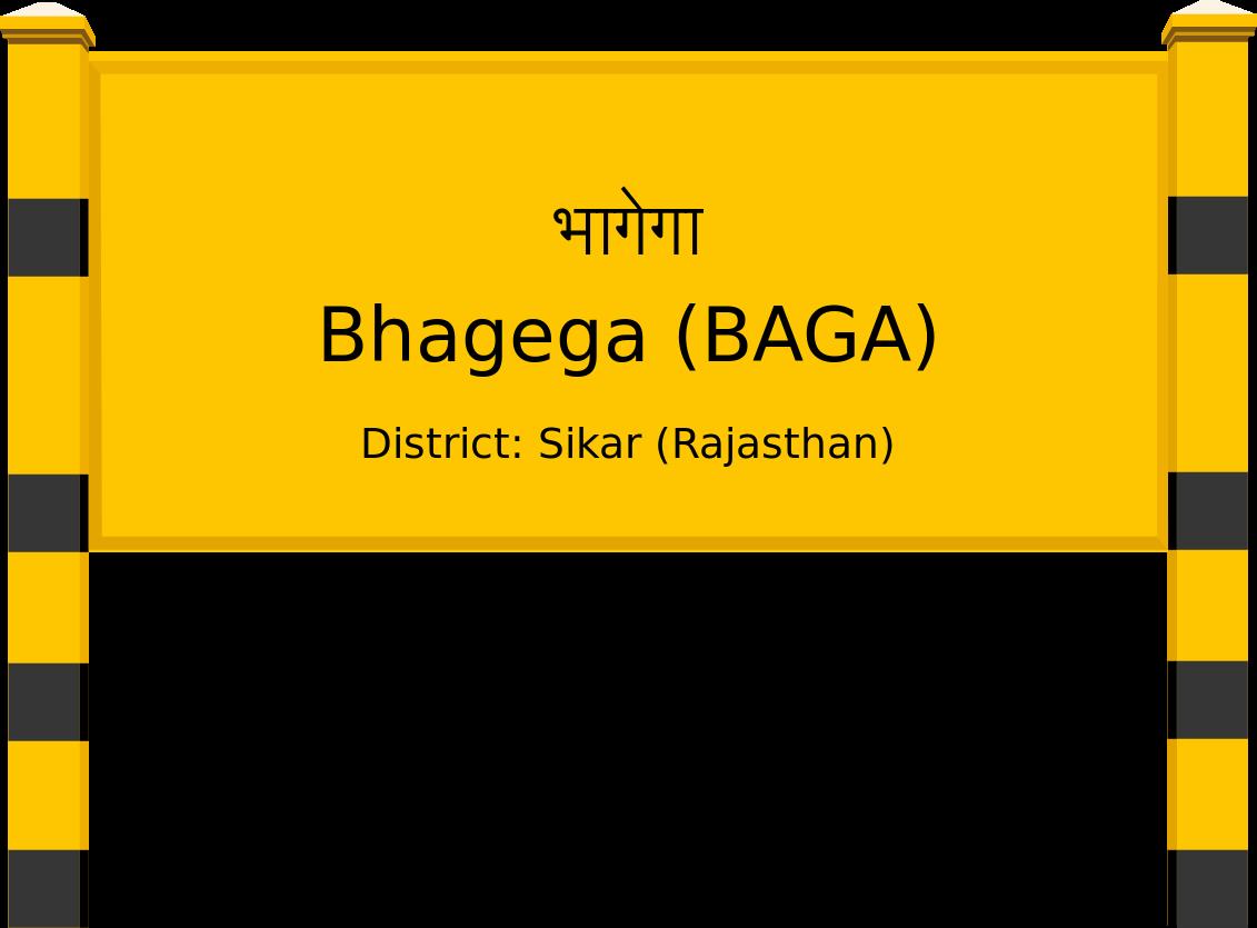 Bhagega (BAGA) Railway Station