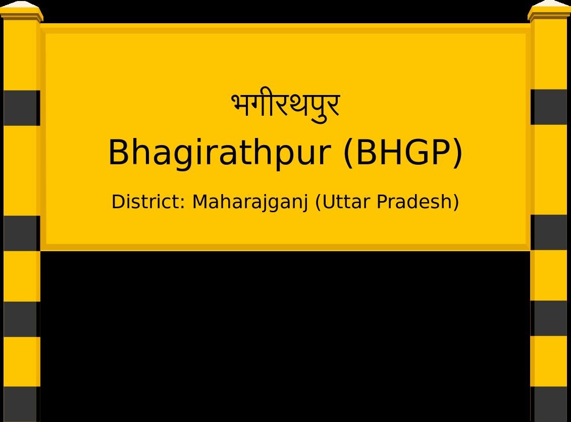 Bhagirathpur (BHGP) Railway Station