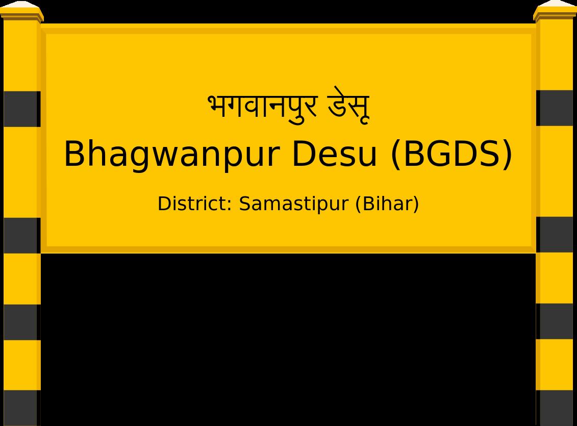 Bhagwanpur Desu (BGDS) Railway Station