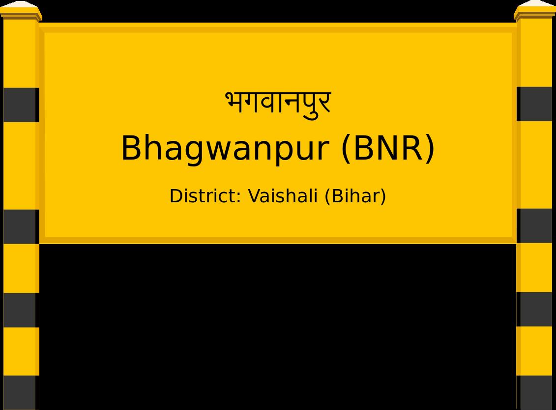 Bhagwanpur (BNR) Railway Station