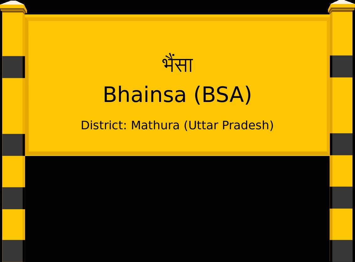 Bhainsa (BSA) Railway Station