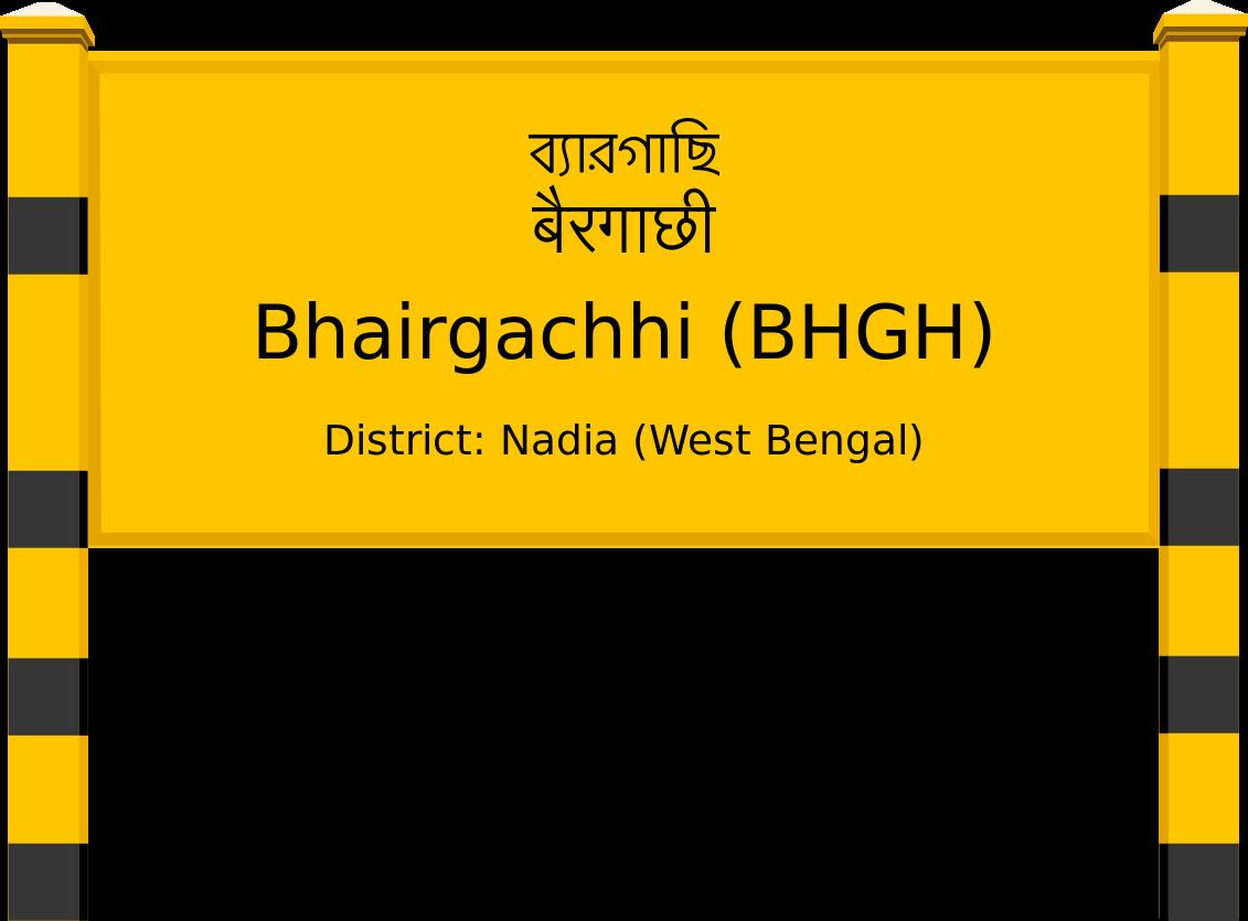 Bhairgachhi (BHGH) Railway Station