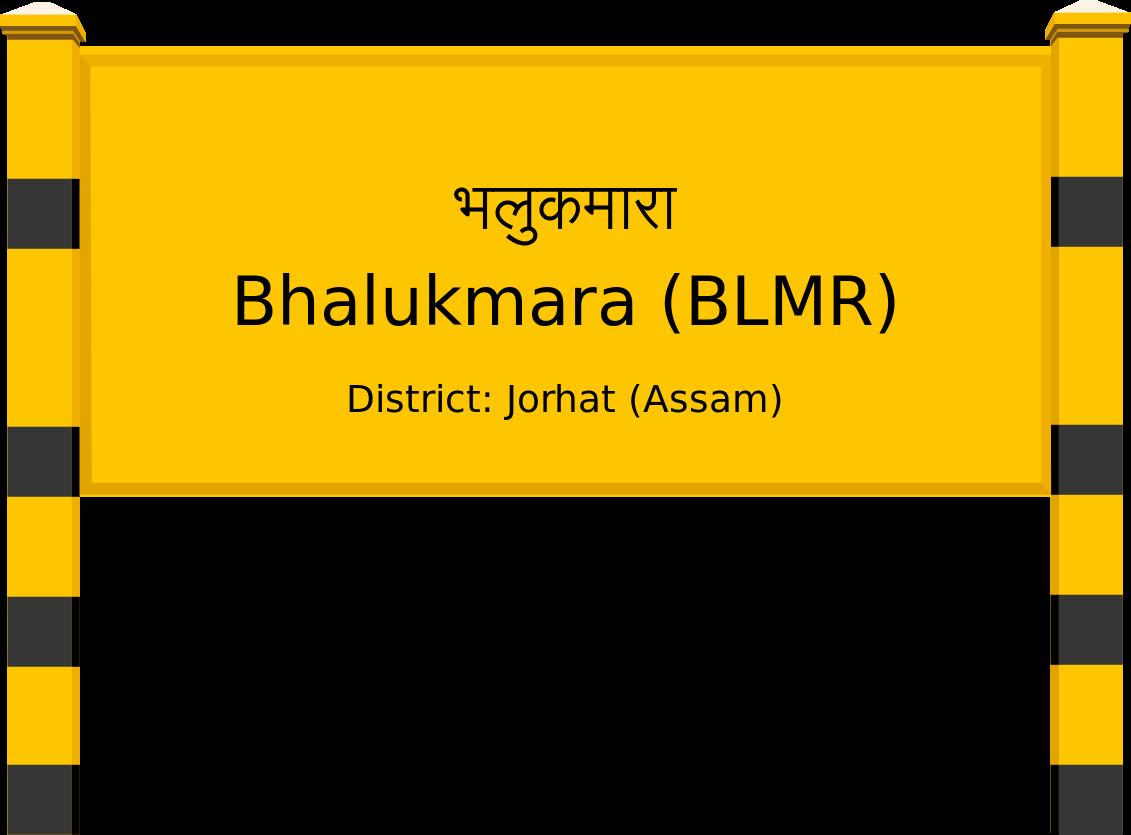 Bhalukmara (BLMR) Railway Station