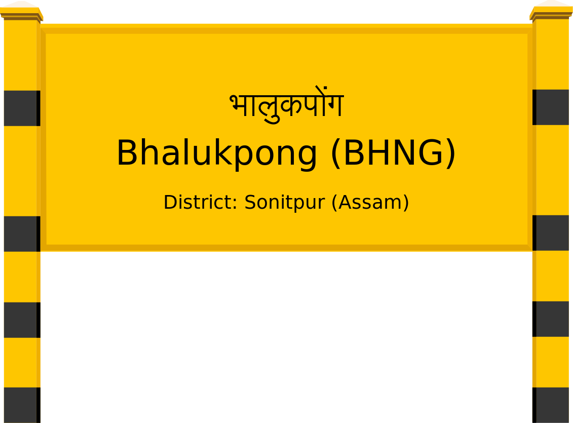Bhalukpong (BHNG) Railway Station