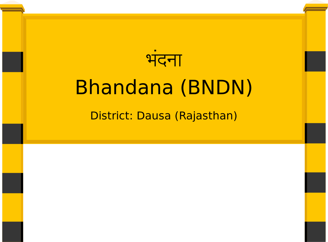 Bhandana (BNDN) Railway Station
