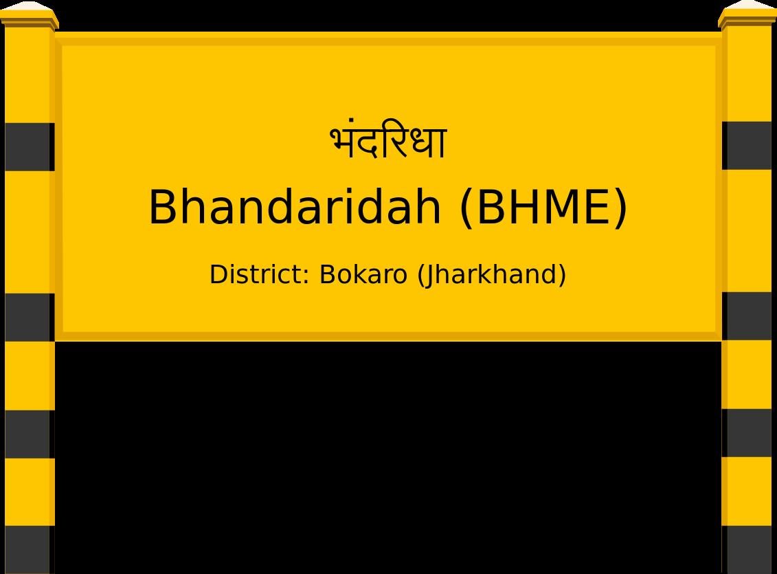 Bhandaridah (BHME) Railway Station