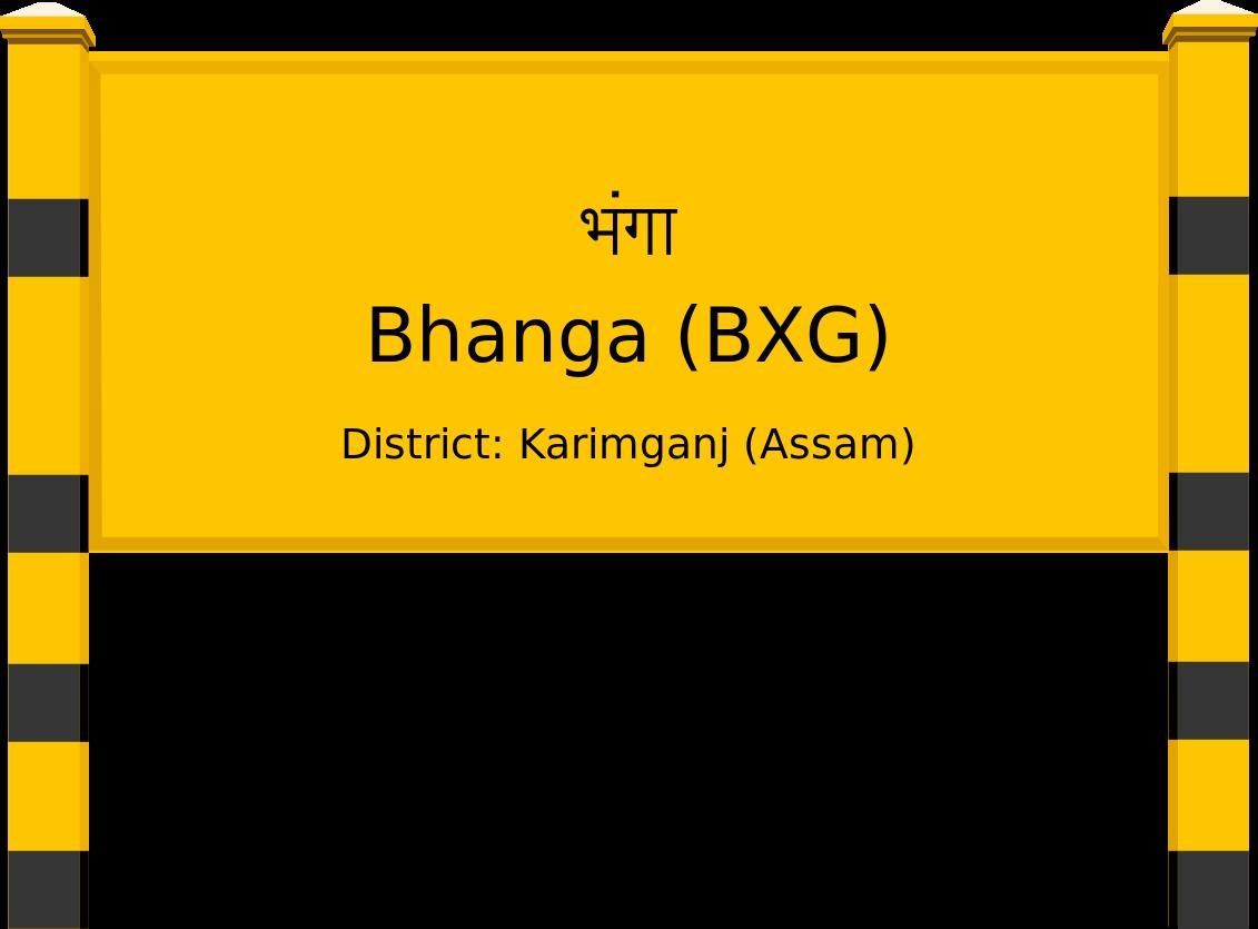 Bhanga (BXG) Railway Station
