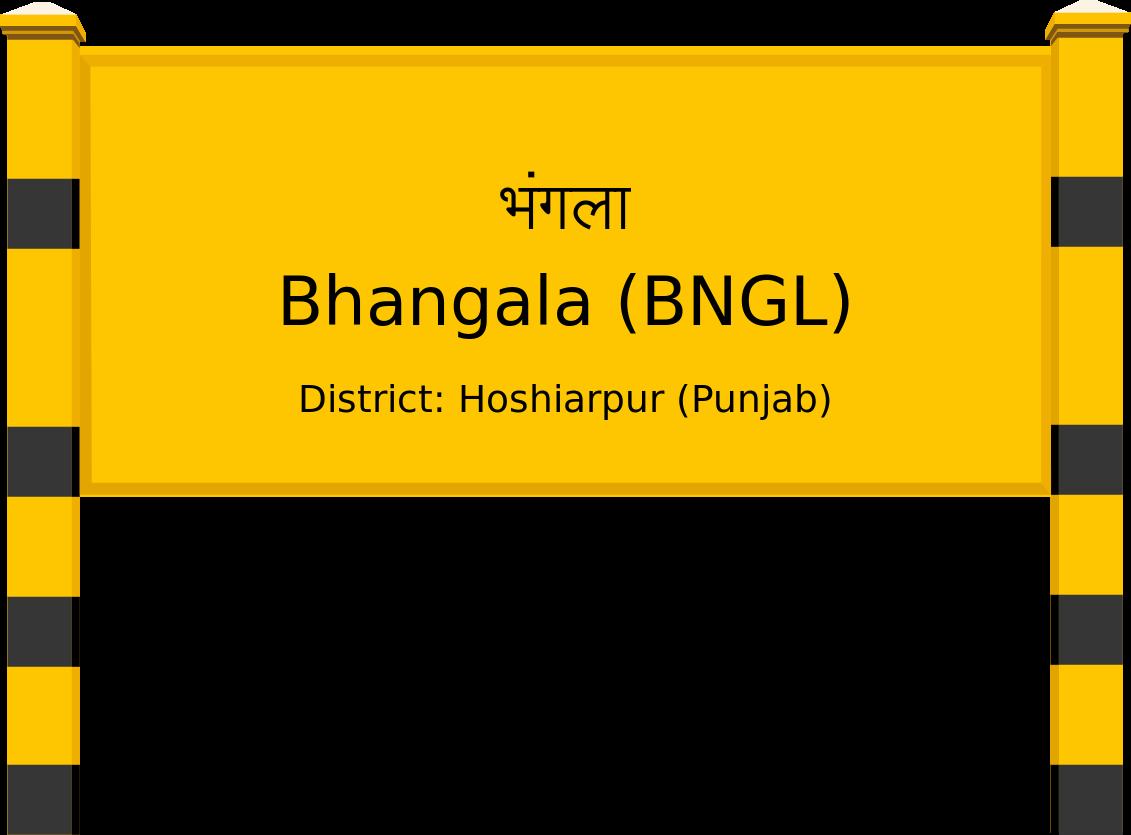Bhangala (BNGL) Railway Station