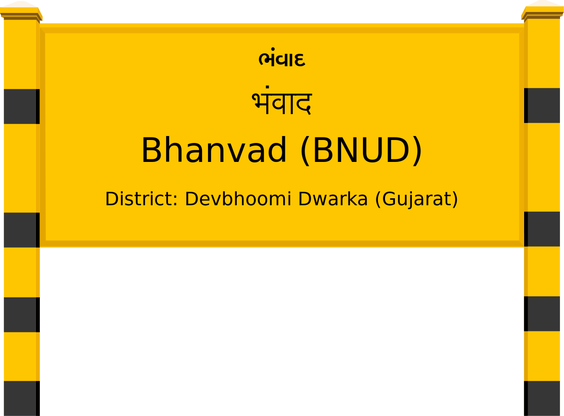 Bhanvad (BNUD) Railway Station