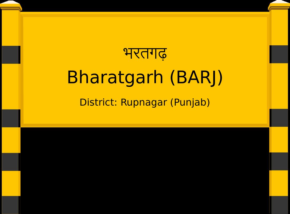 Bharatgarh (BARJ) Railway Station