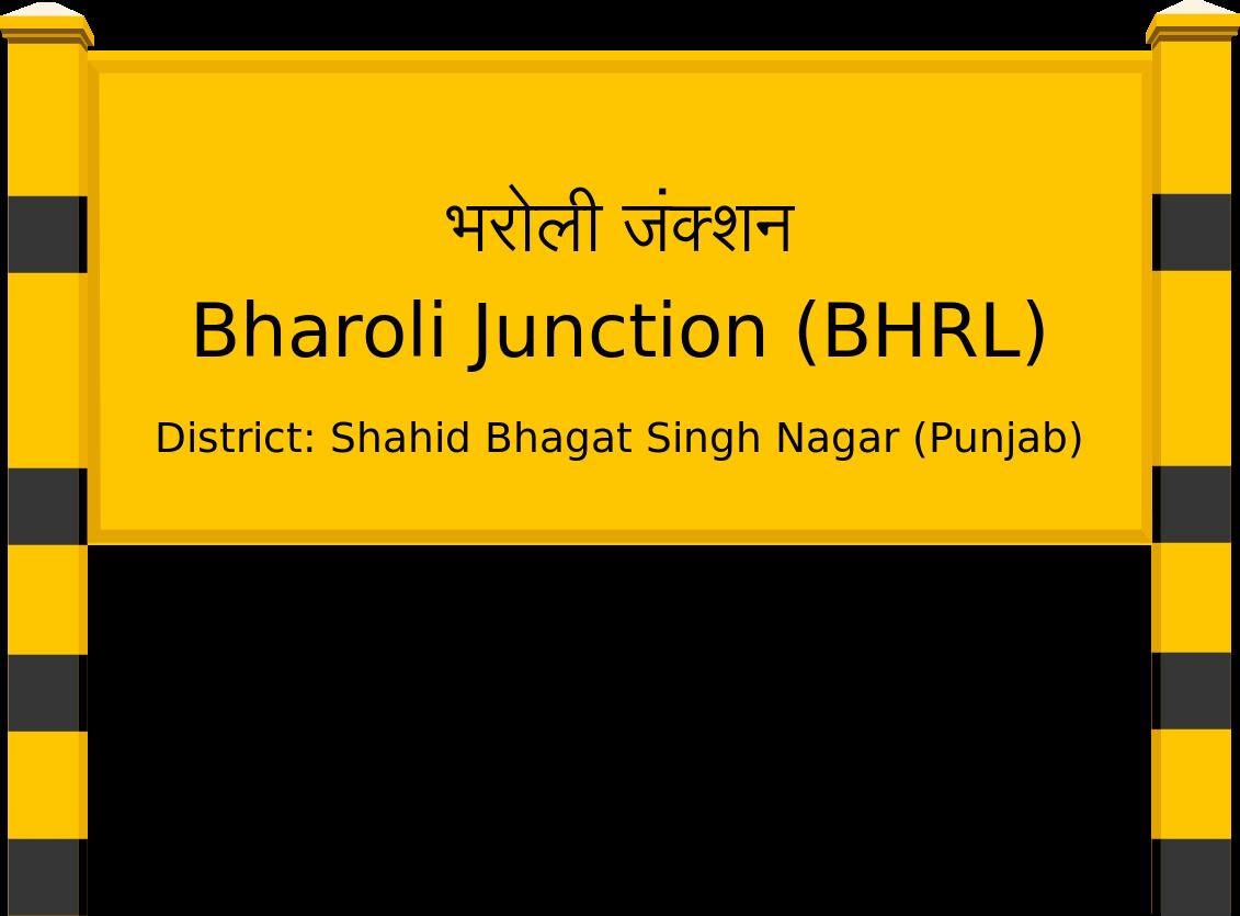Bharoli Junction (BHRL) Railway Station