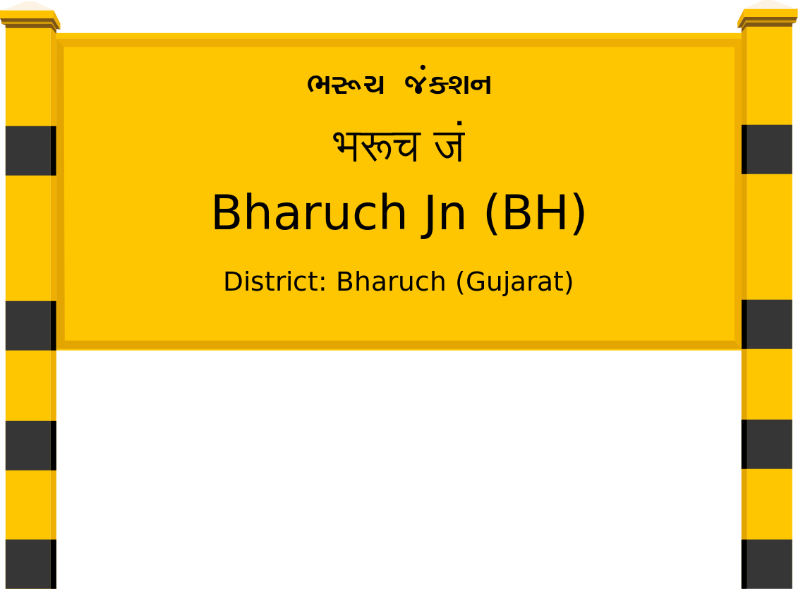 Bharuch Jn (BH) Railway Station