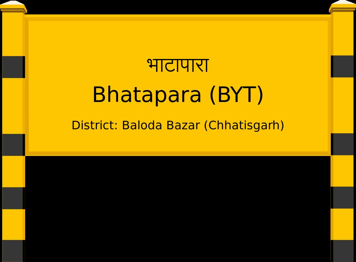 Bhatapara (BYT) Railway Station