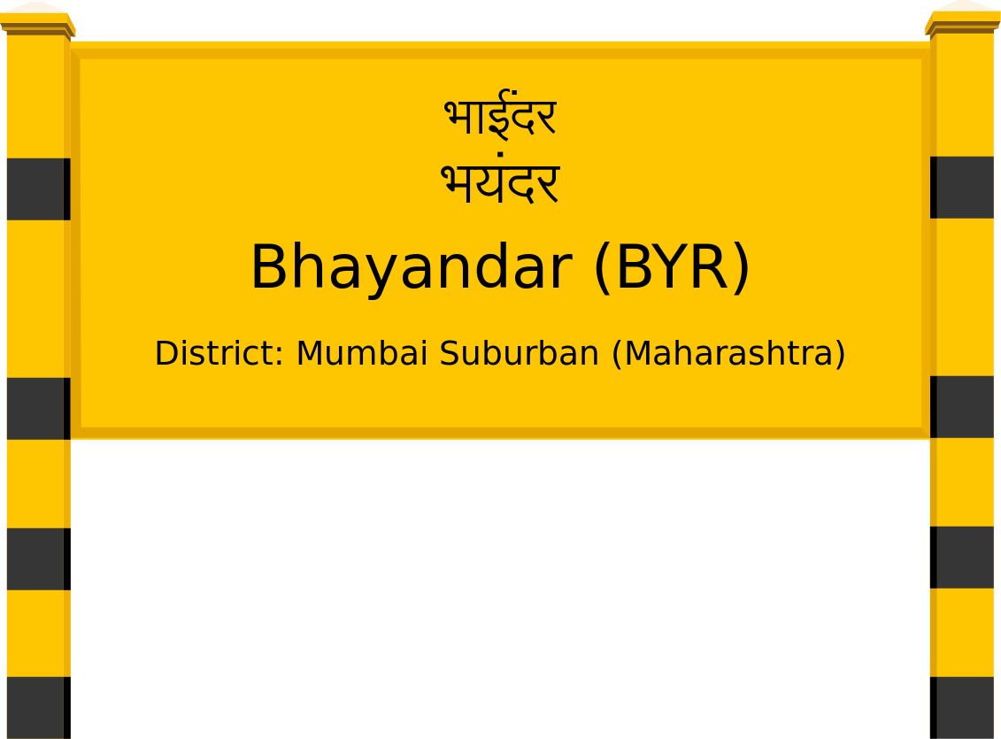 Bhayandar (BYR) Railway Station