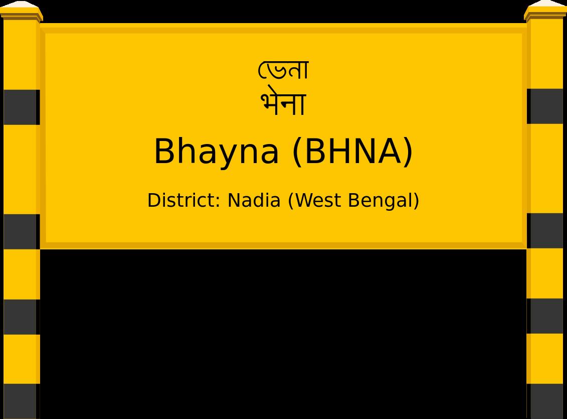 Bhayna (BHNA) Railway Station