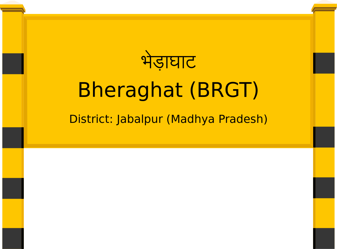 Bheraghat (BRGT) Railway Station