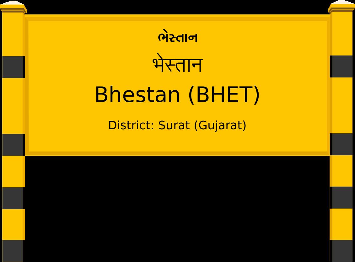 Bhestan (BHET) Railway Station
