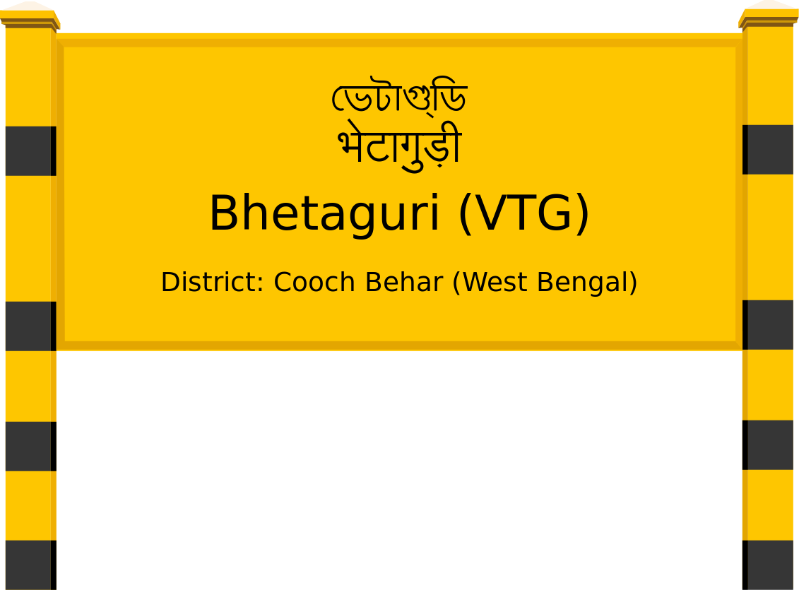 Bhetaguri (VTG) Railway Station