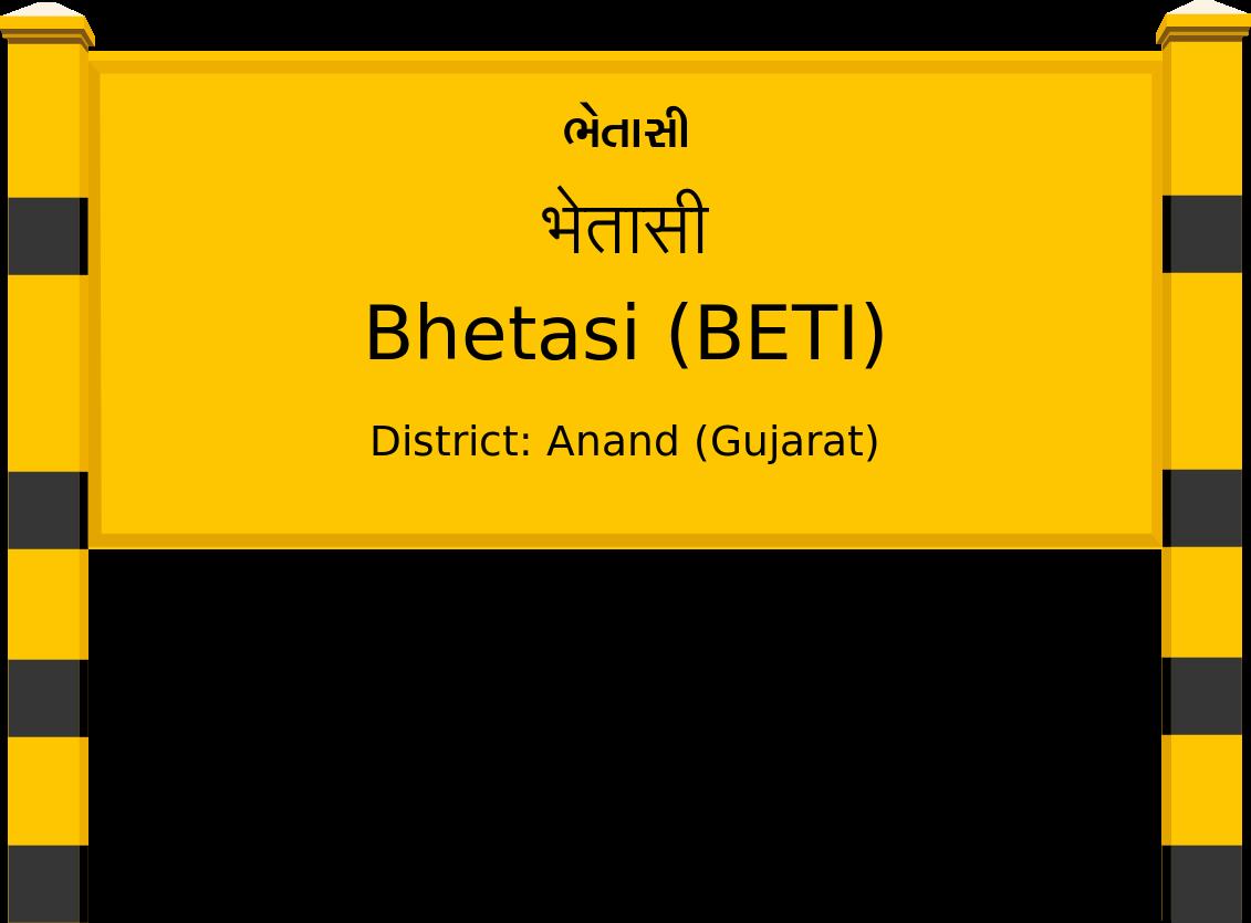 Bhetasi (BETI) Railway Station