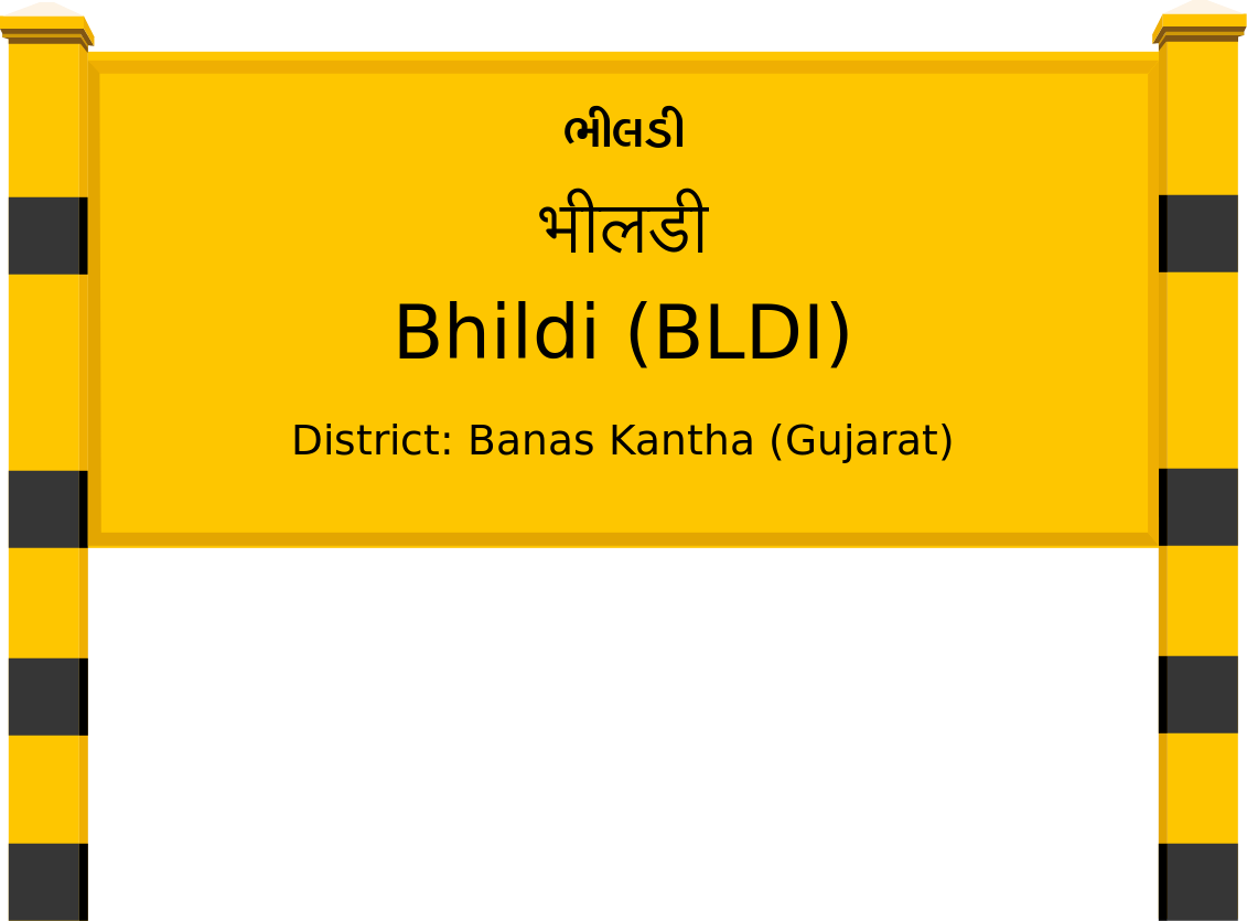 Bhildi (BLDI) Railway Station