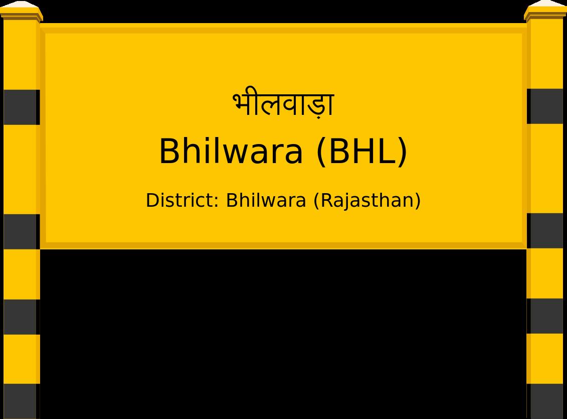 Bhilwara (BHL) Railway Station