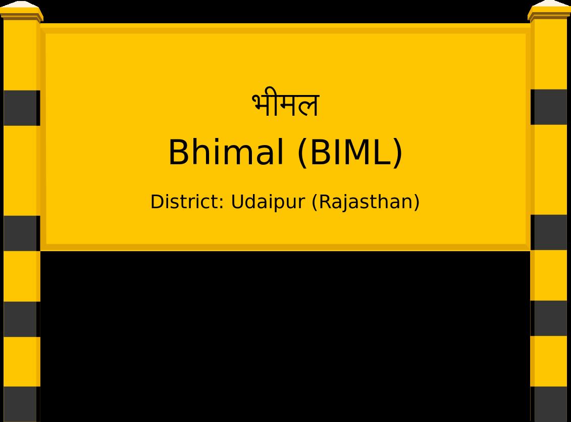 Bhimal (BIML) Railway Station