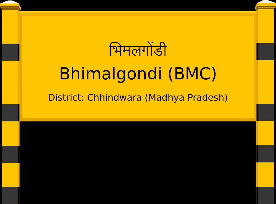 Bhimalgondi (BMC) Railway Station