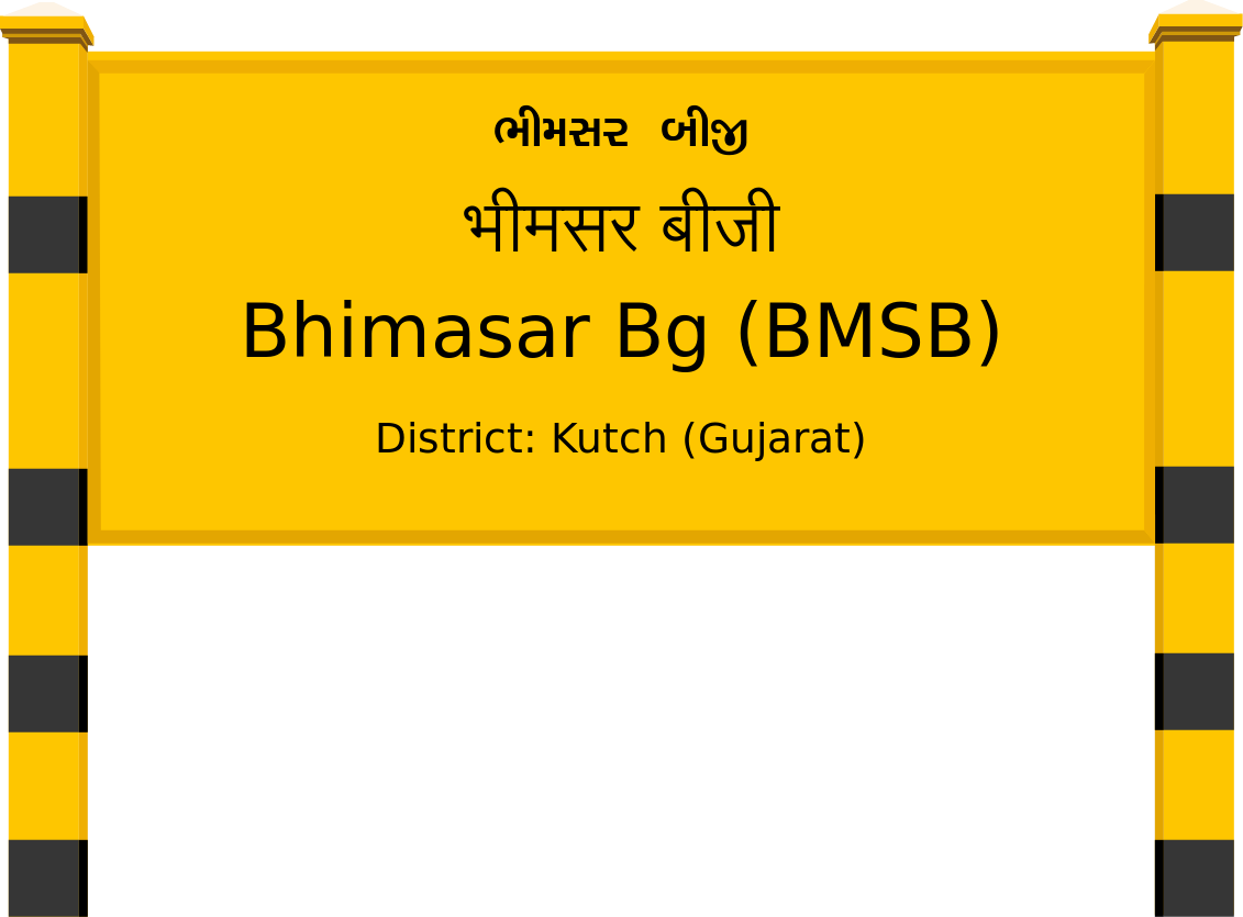 Bhimasar Bg (BMSB) Railway Station