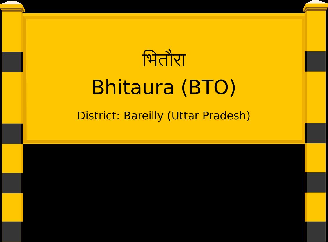 Bhitaura (BTO) Railway Station