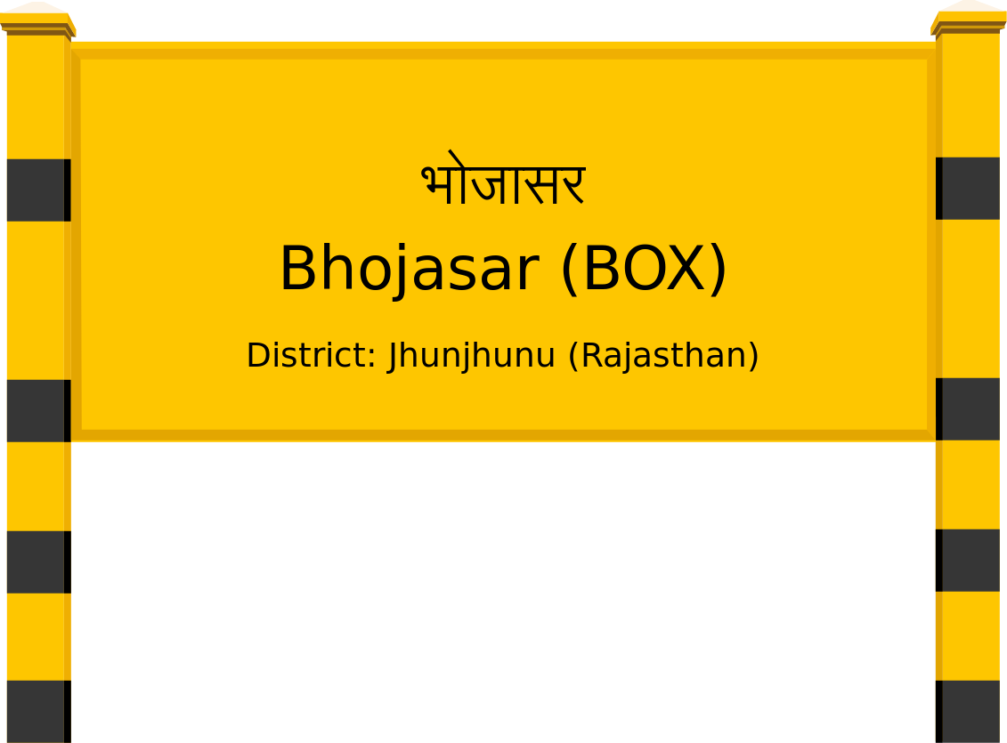 Bhojasar (BOX) Railway Station