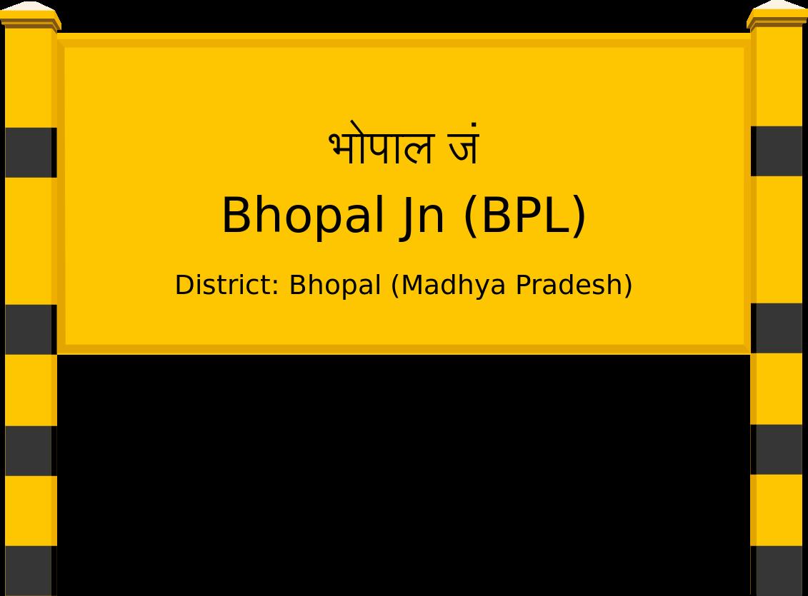 Bhopal Jn (BPL) Railway Station