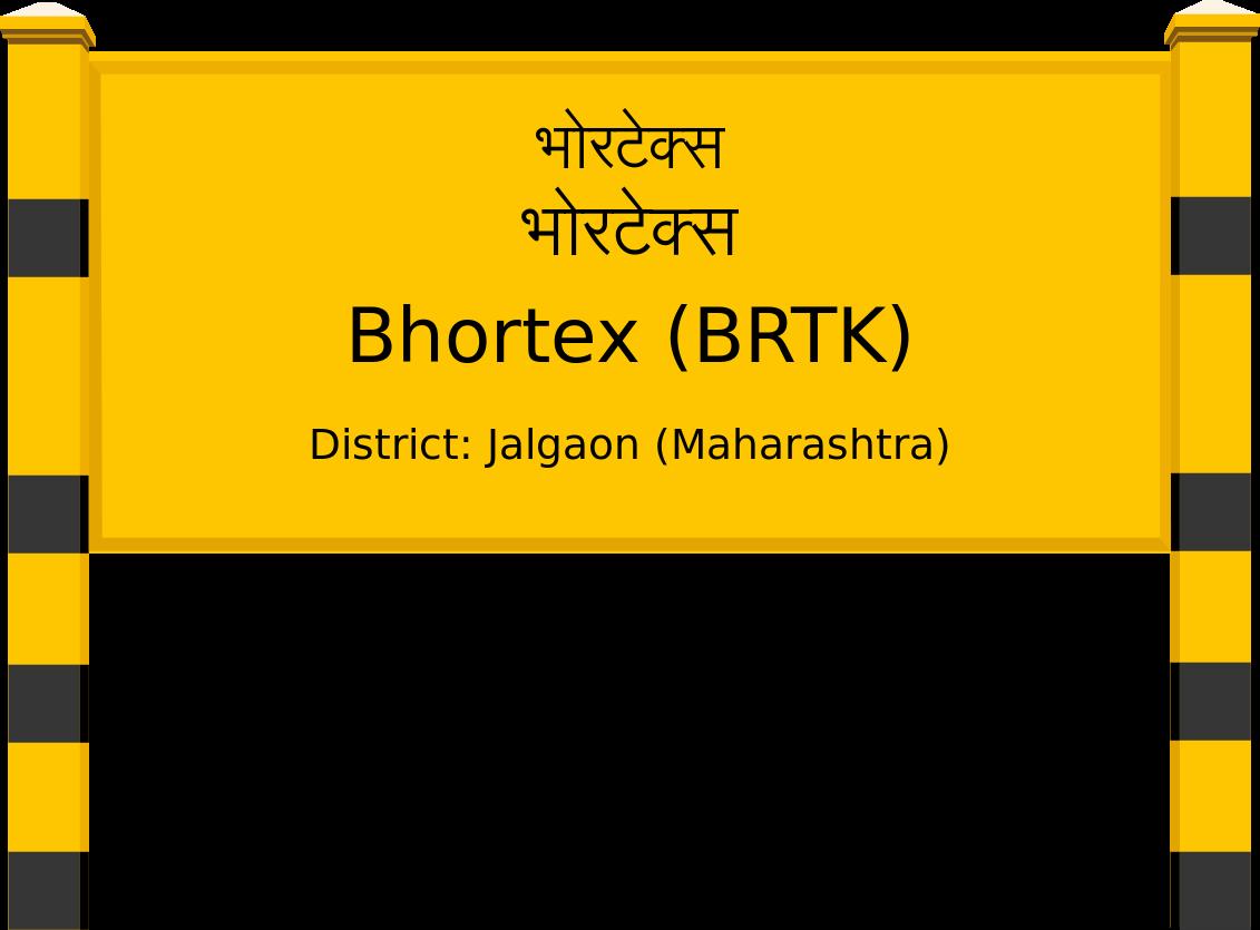 Bhortex (BRTK) Railway Station