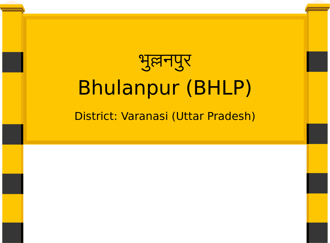 Bhulanpur (BHLP) Railway Station