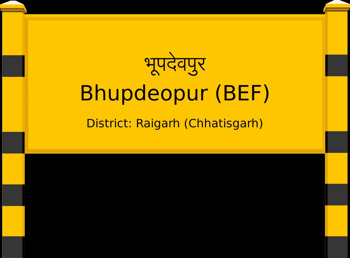 Bhupdeopur (BEF) Railway Station