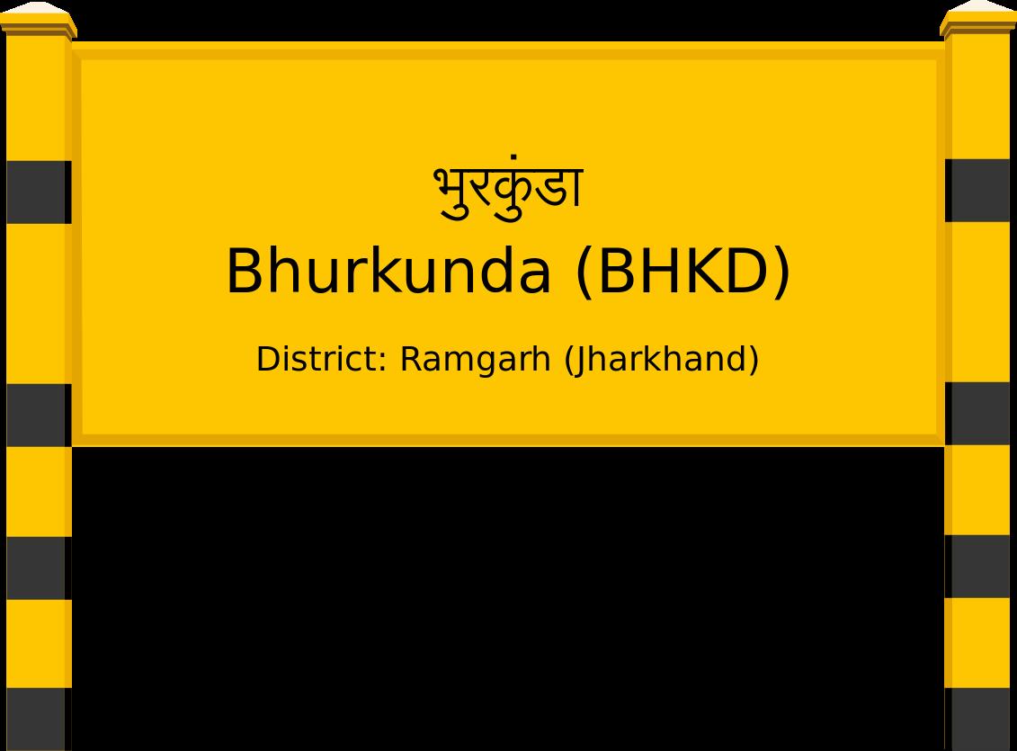 Bhurkunda (BHKD) Railway Station