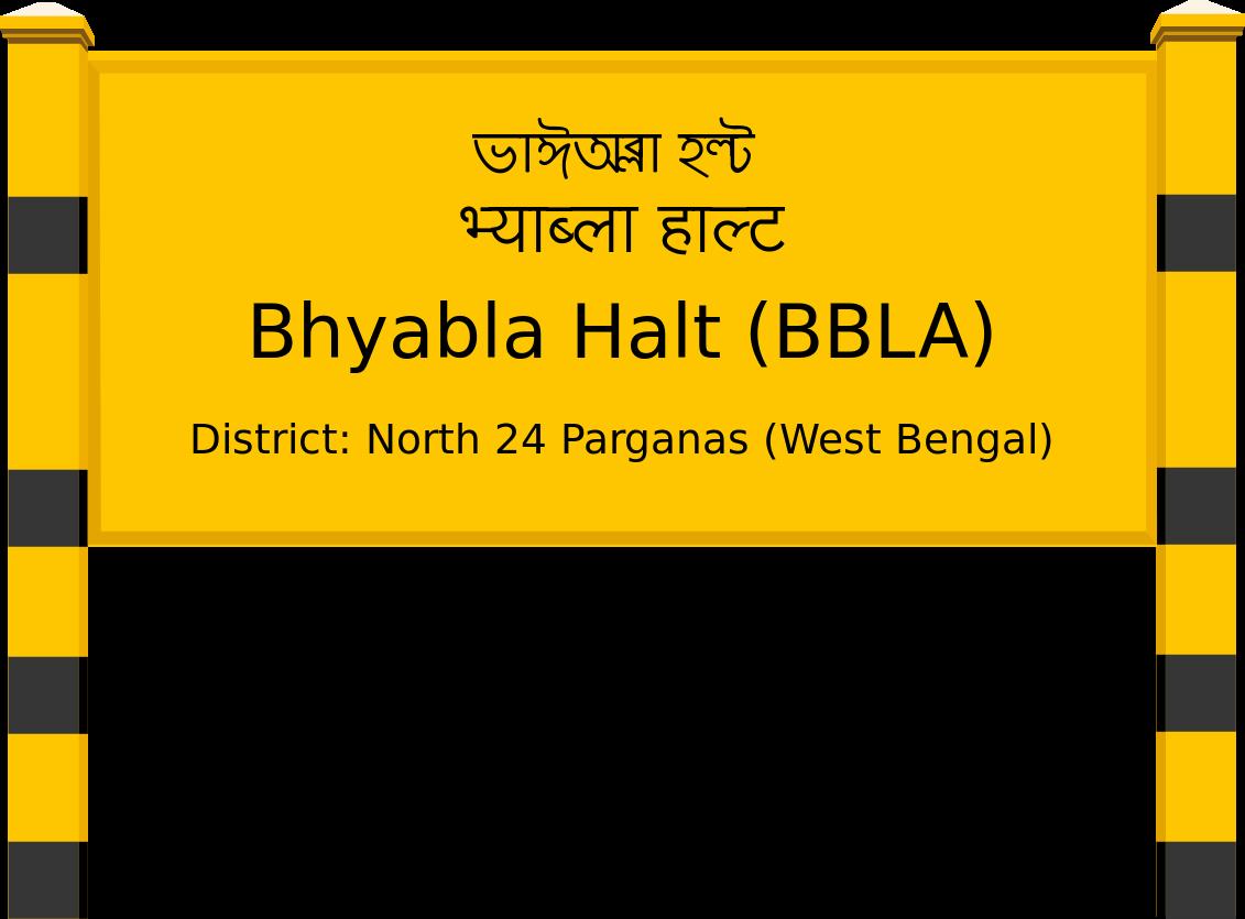 Bhyabla Halt (BBLA) Railway Station