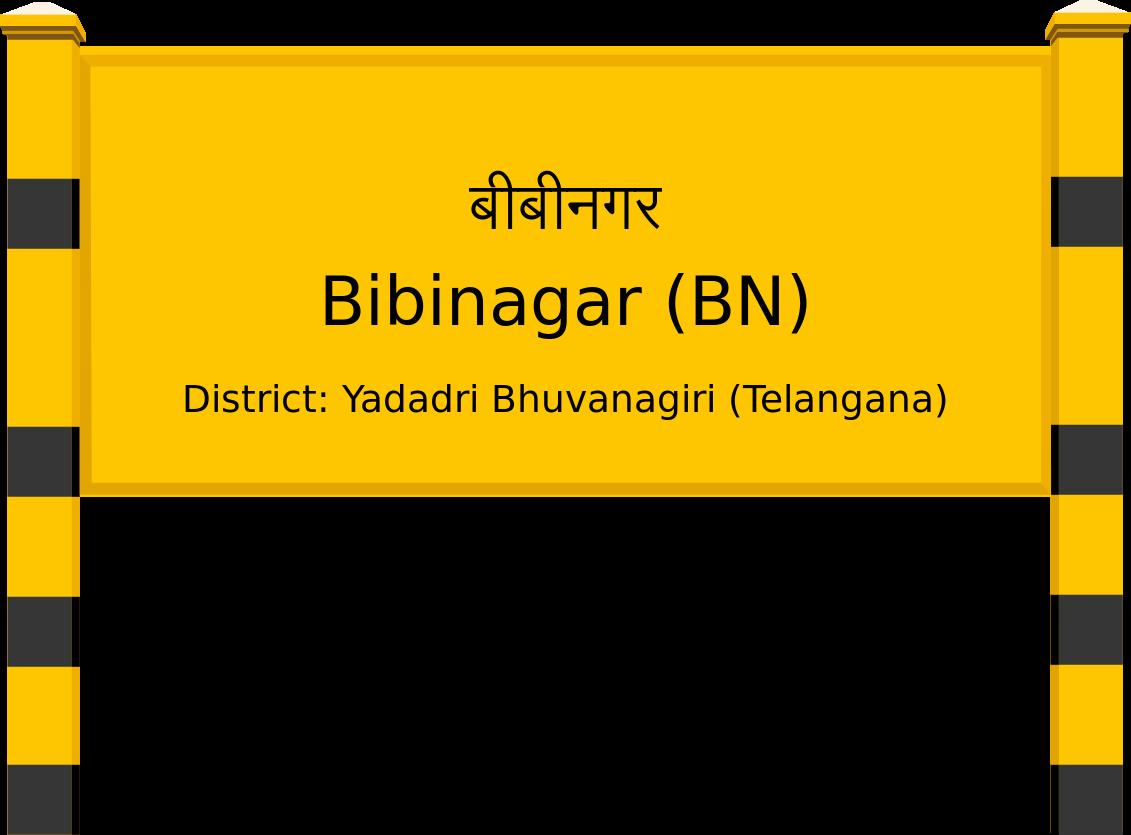 Bibinagar (BN) Railway Station