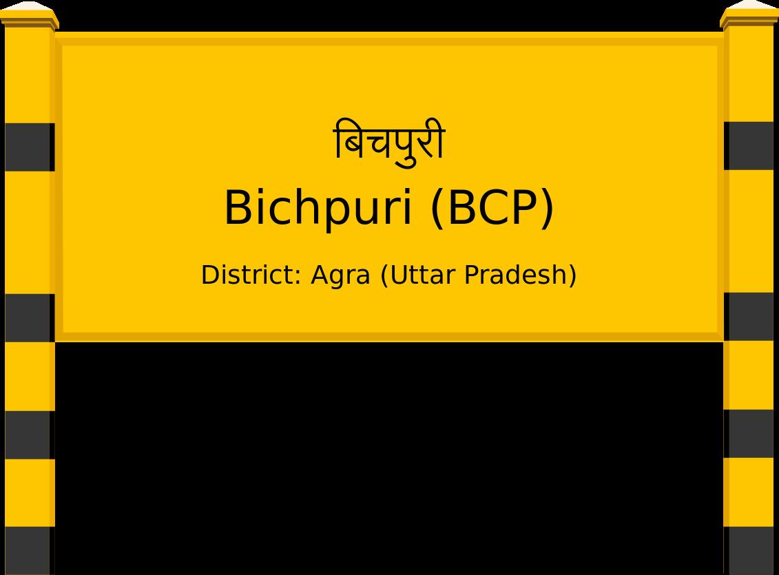 Bichpuri (BCP) Railway Station