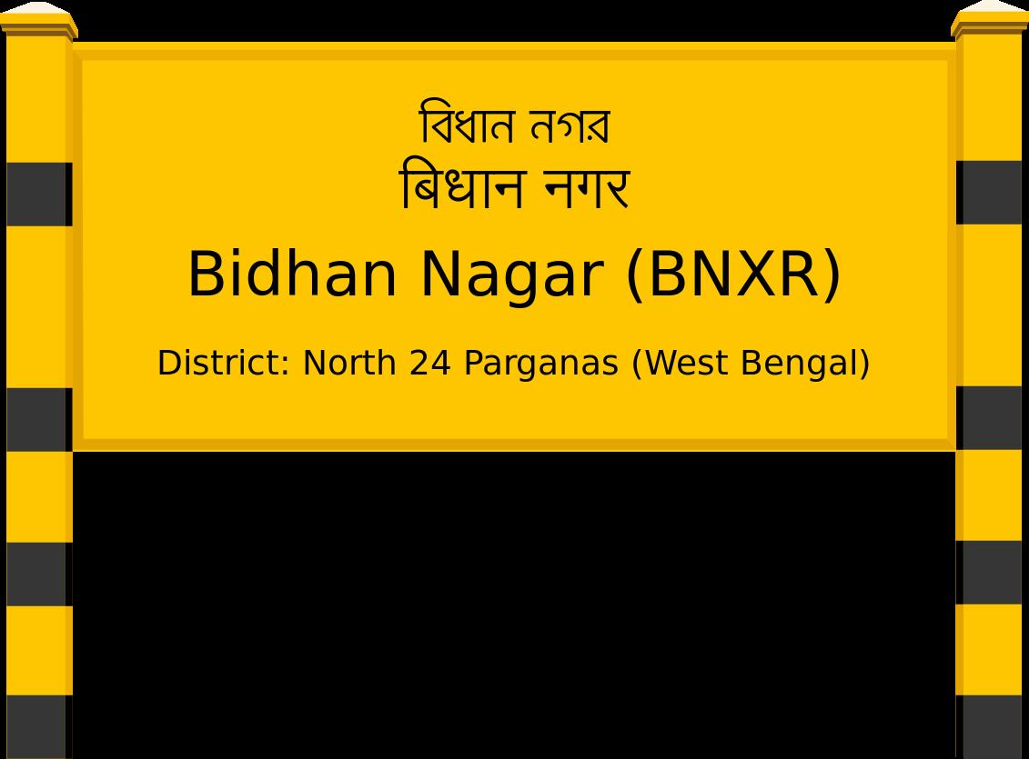 Bidhan Nagar (BNXR) Railway Station