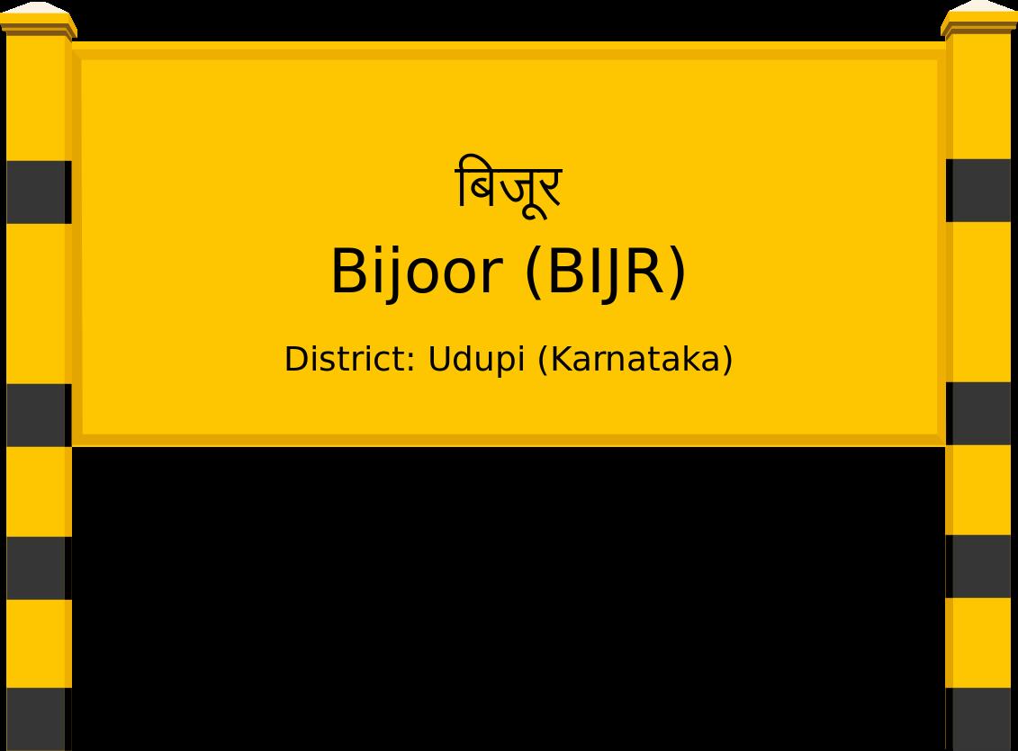 Bijoor (BIJR) Railway Station