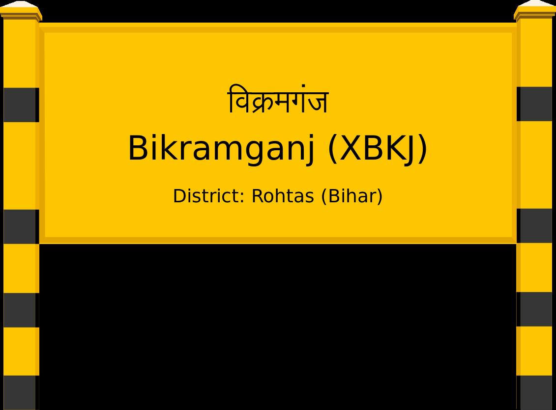 Bikramganj (XBKJ) Railway Station