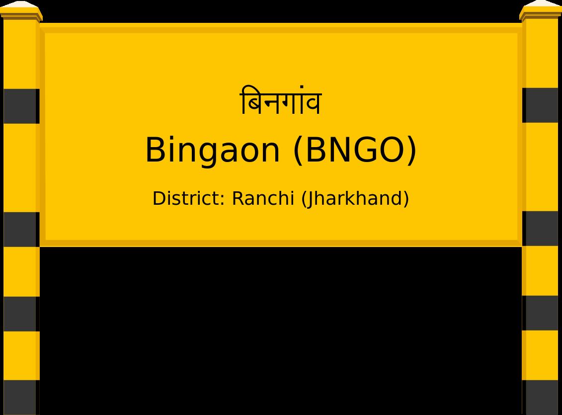 Bingaon (BNGO) Railway Station