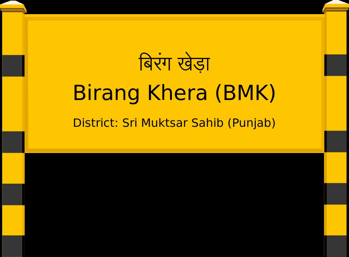 Birang Khera (BMK) Railway Station