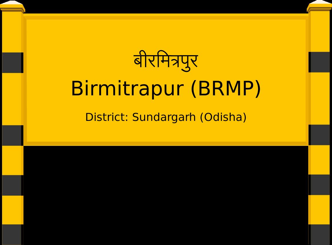 Birmitrapur (BRMP) Railway Station