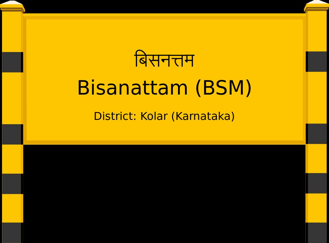 Bisanattam (BSM) Railway Station