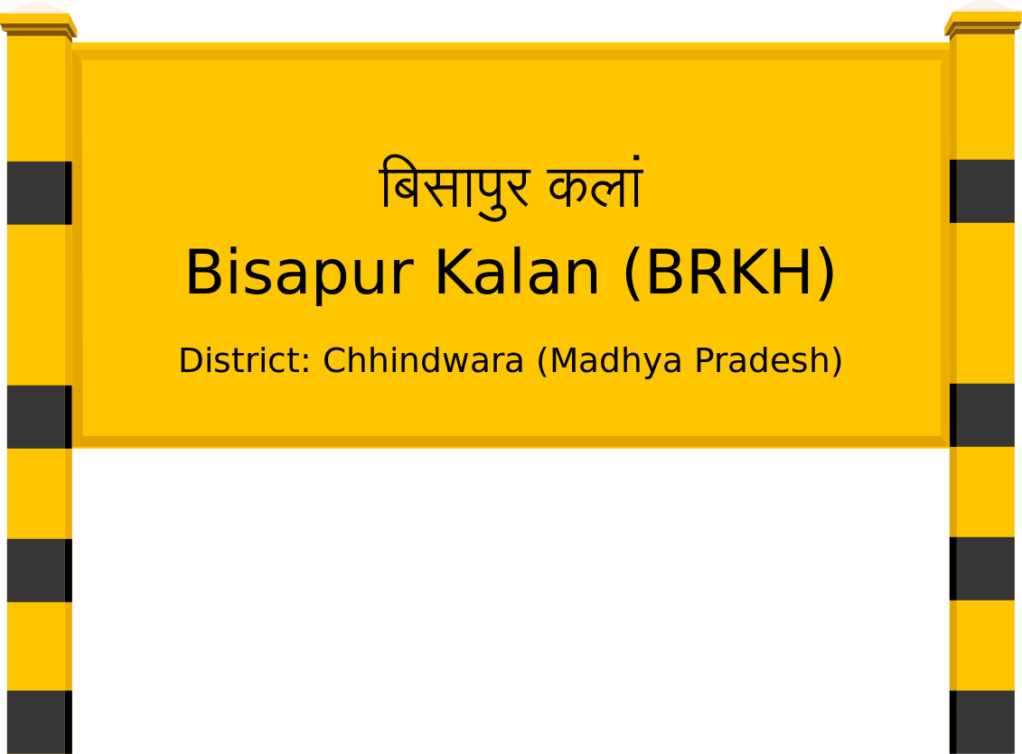 Bisapur Kalan (BRKH) Railway Station
