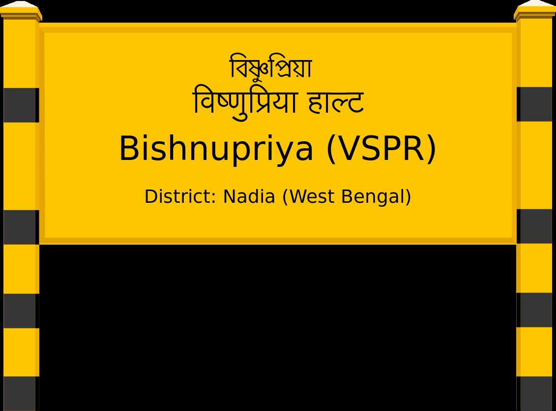 Bishnupriya (VSPR) Railway Station