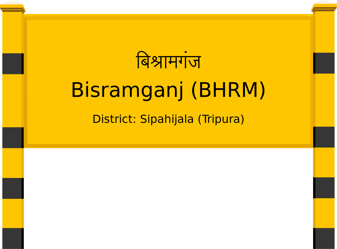 Bisramganj (BHRM) Railway Station
